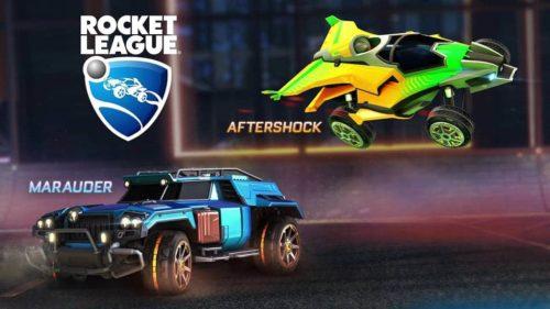 Rocket League Neue Wagen