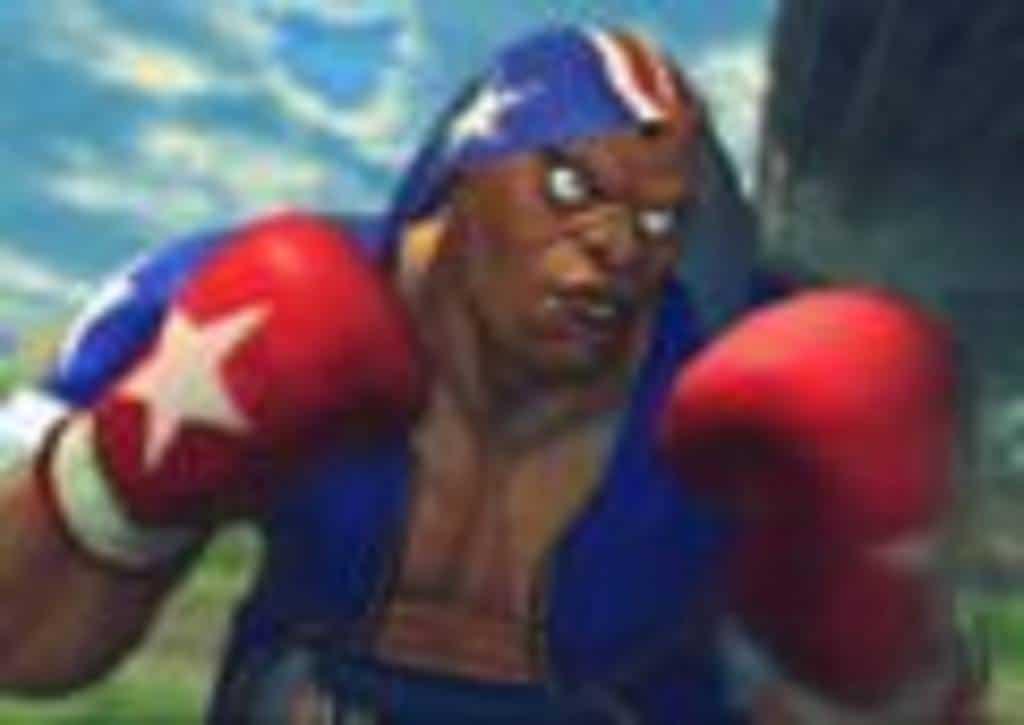 Street Fighter V Balrog 2016 PS4