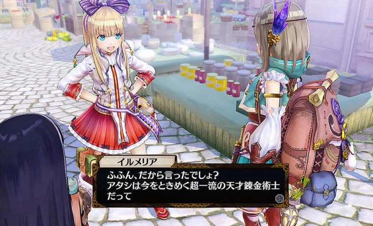 Atelier Firis PS4 2016 Anime Japan (2)