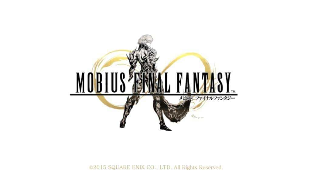 MOBIUS FINAL FANTASY PS4 2016