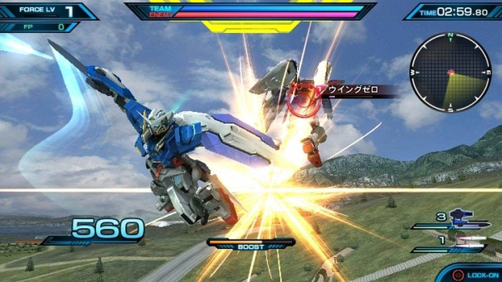 Mobile Suit Gundam Extreme VS-Force PS Vita 2016 News Anime (1)