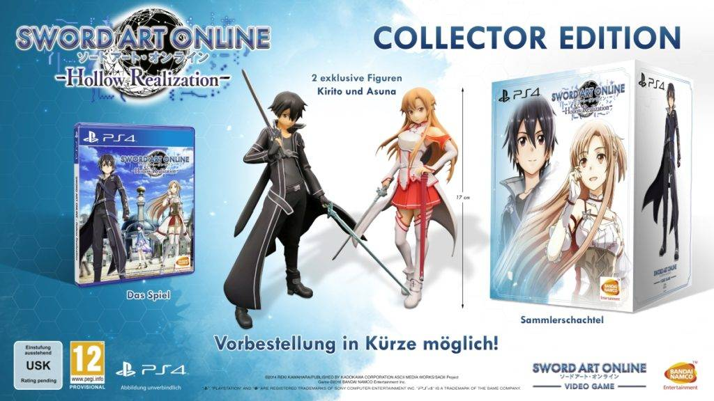 SWORD ART ONLINE HOLLOW REALIZATION - Collector's Edition vorgestellt