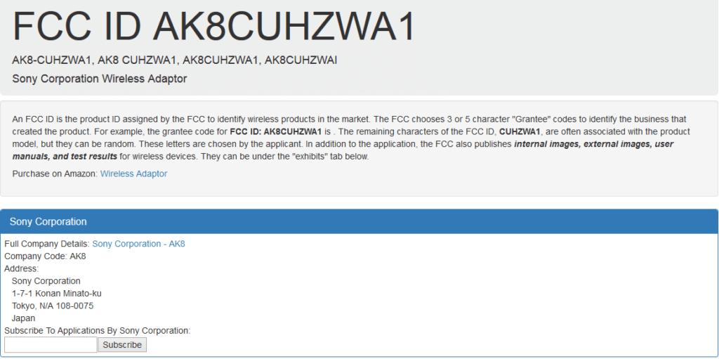 Wireless_Adapter_Sony_FCC