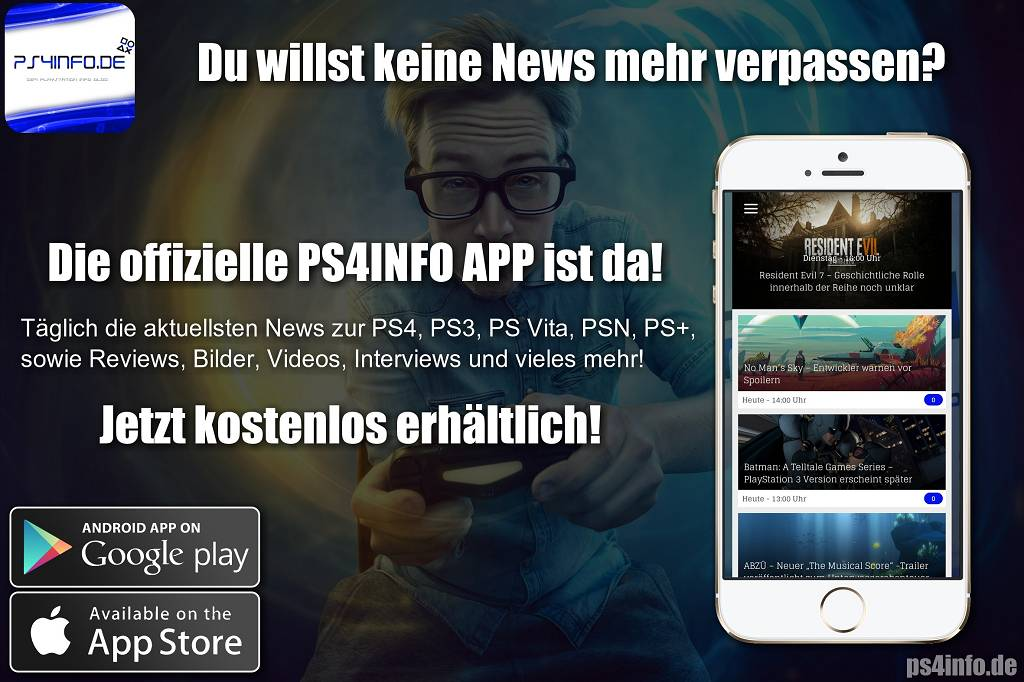 ps4info als app jetzt downloaden kostenlos playstation info. Black Bedroom Furniture Sets. Home Design Ideas