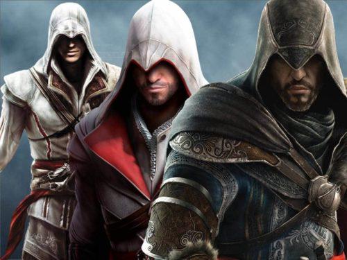 Assassins Creed 1-3