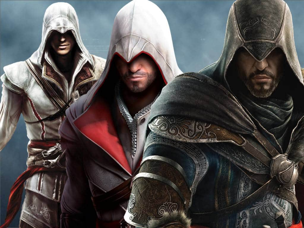 Assassins Creed 1-3