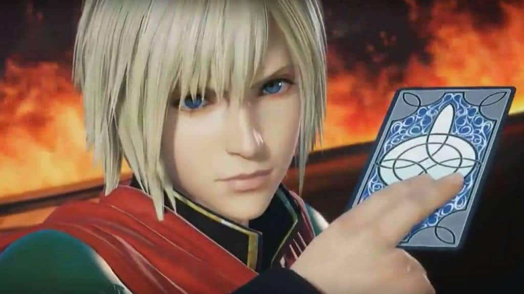 DISSIDIA Final Fantasy PS4 2016 Ace