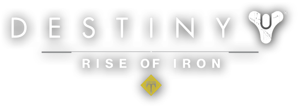 Destiny - Rise of Iron Logo 2016 PS4