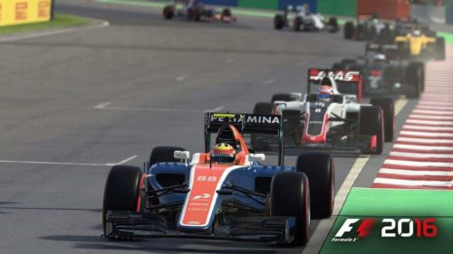 F1 2016 Start