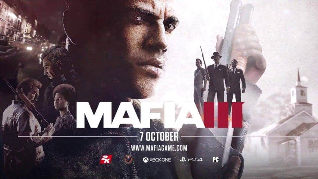 Mafia 3 PS4 2016 Wallpaper