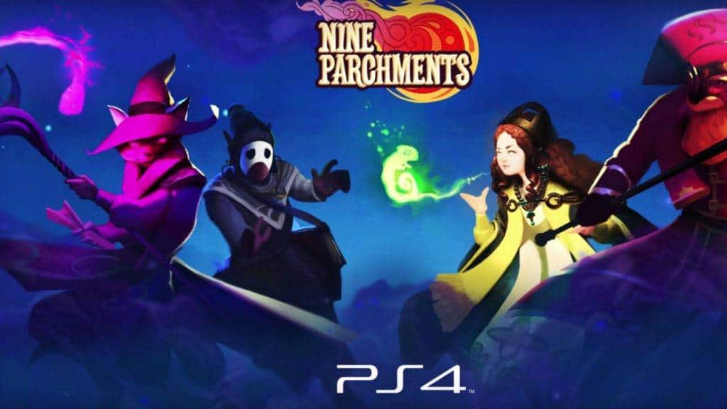 Nine Parchments PS4 2016 (1)