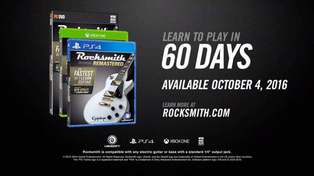 Rocksmith 2014 Edition PS4 2016 (1)