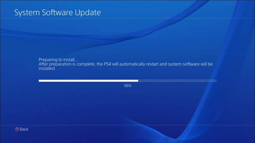 Sony PlayStation 4 Update
