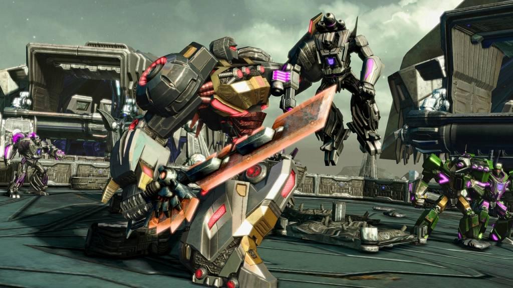 TRANSFORMERS Untergang von Cybertron PS4 2016 (1)