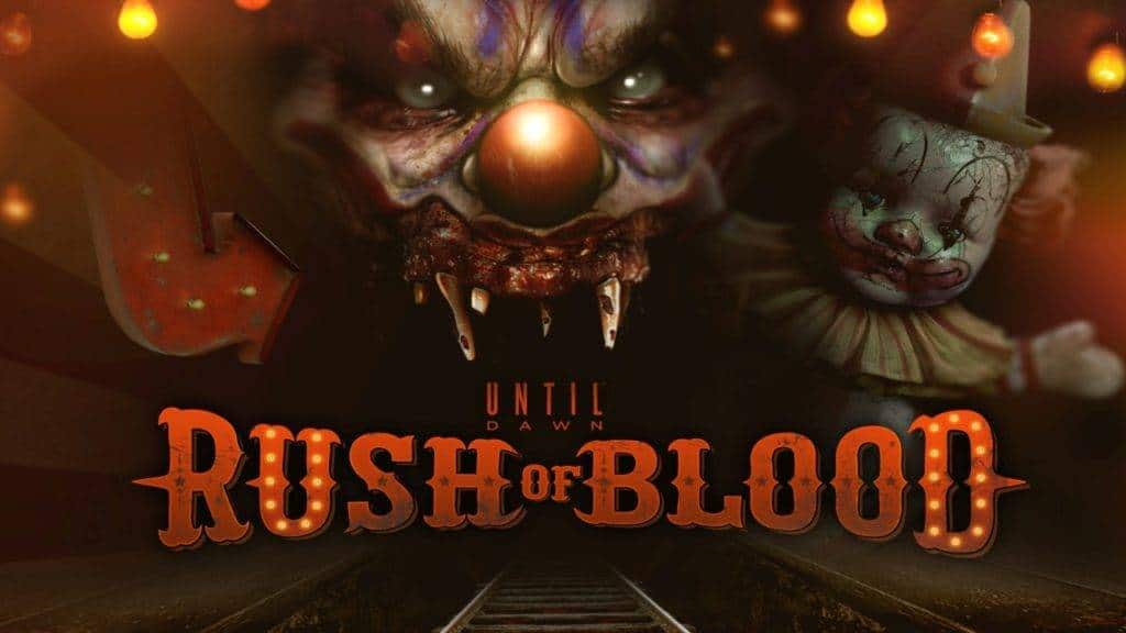 Until Dawn Rush of Blood - PS VR 2016
