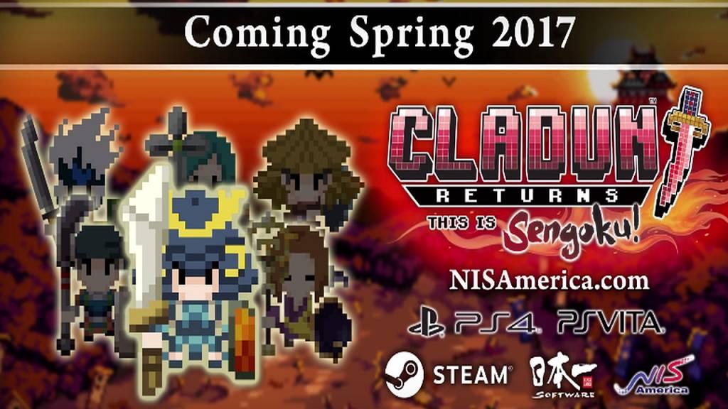 Cladun Returns: This is Sengoku! – Erscheint im Frühjahr 2017 für PlayStation 4