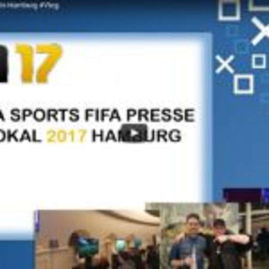 EA Sports FIFA Presse Pokal in Hamburg #Vlog