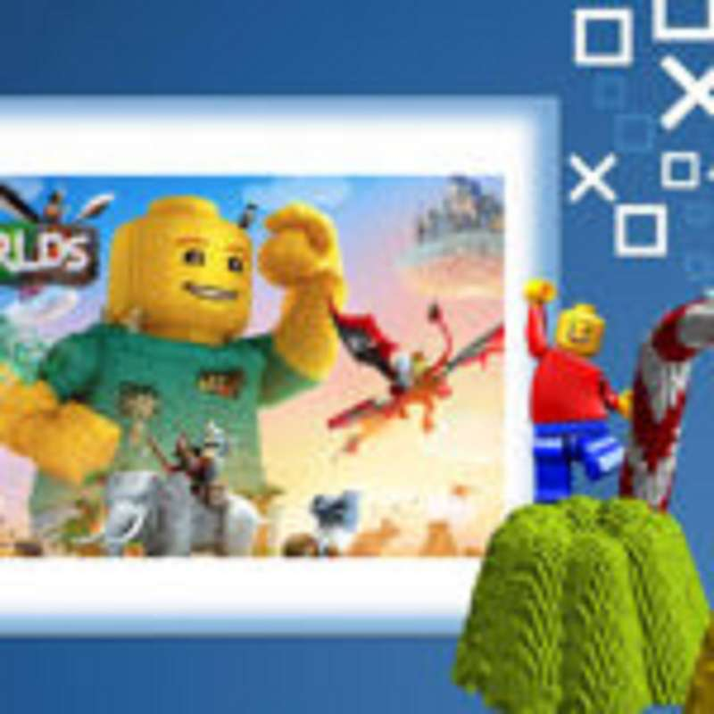 PS4-Live-Übertragung von Soprao Lego Worlds Angespielt