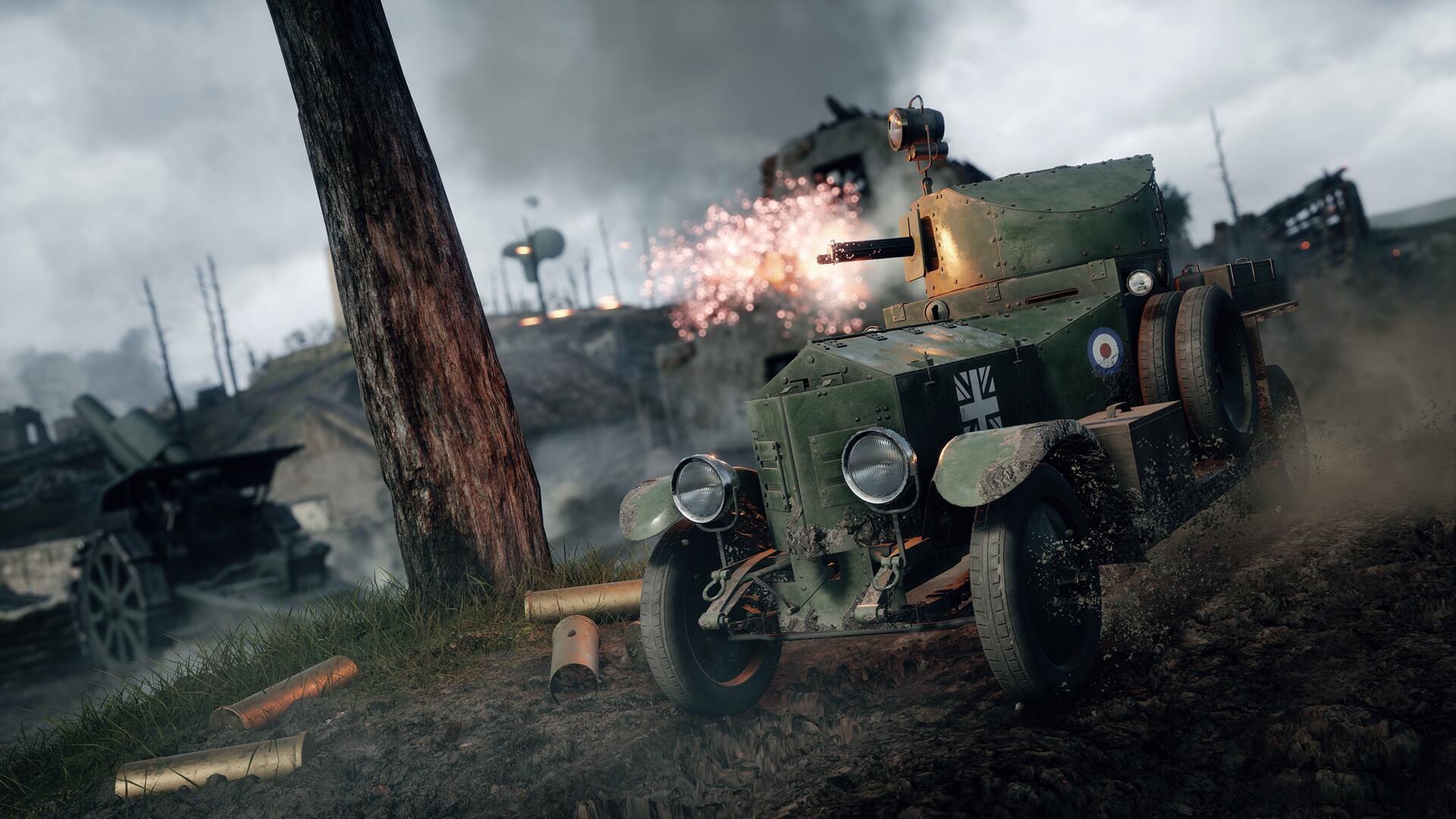 Premium Trials in Battlefield 1