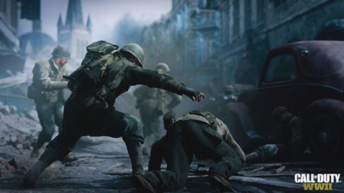 Call of Duty: WWII - Headquarters Social Space enthüllt
