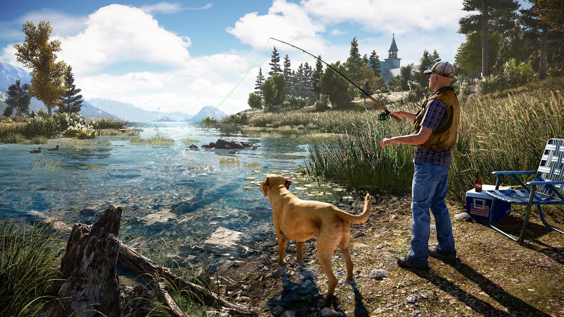 Far Cry 5: PETA kritisiert das Angeln als