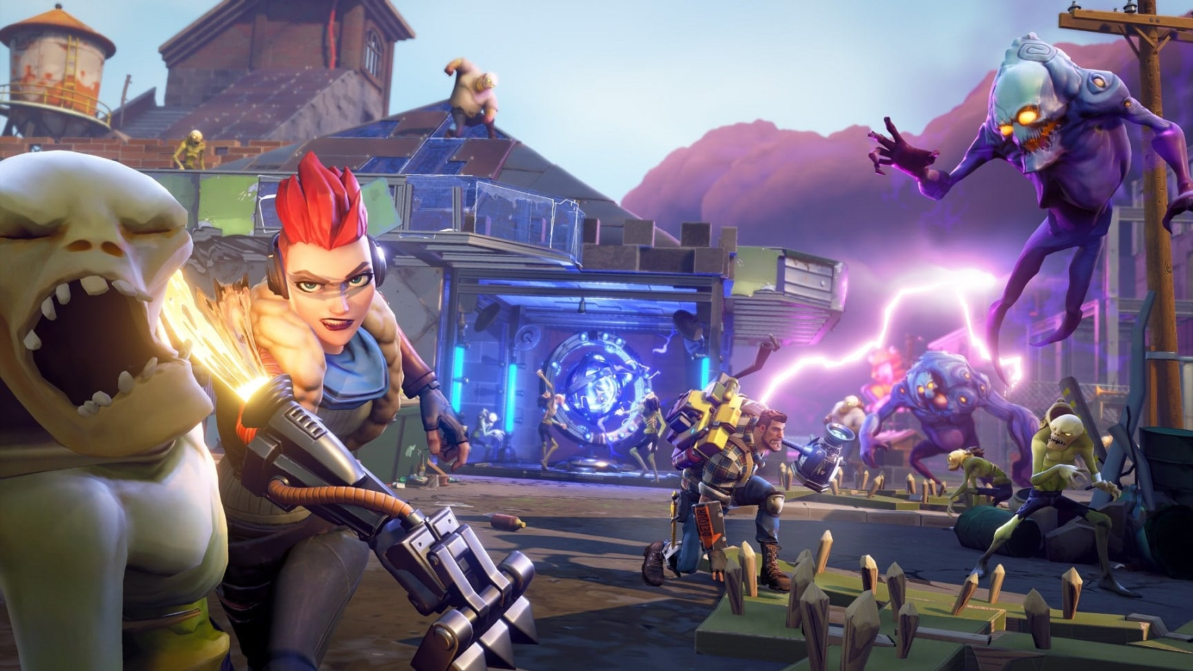 Fortnite - Action-Aufbauspiel startet Ende Juli im Early-Access