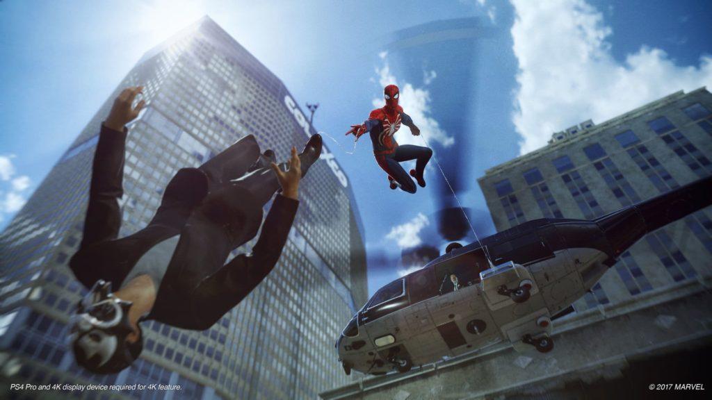 Spider-Man - Trotz PlayStation 4 Pro keine 60 FPS möglich