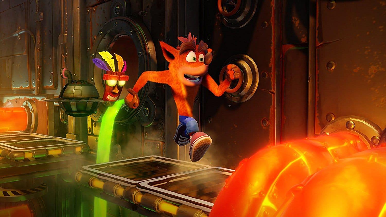 Crash Bandicoot N. Sane Trilogy steuert sich anders