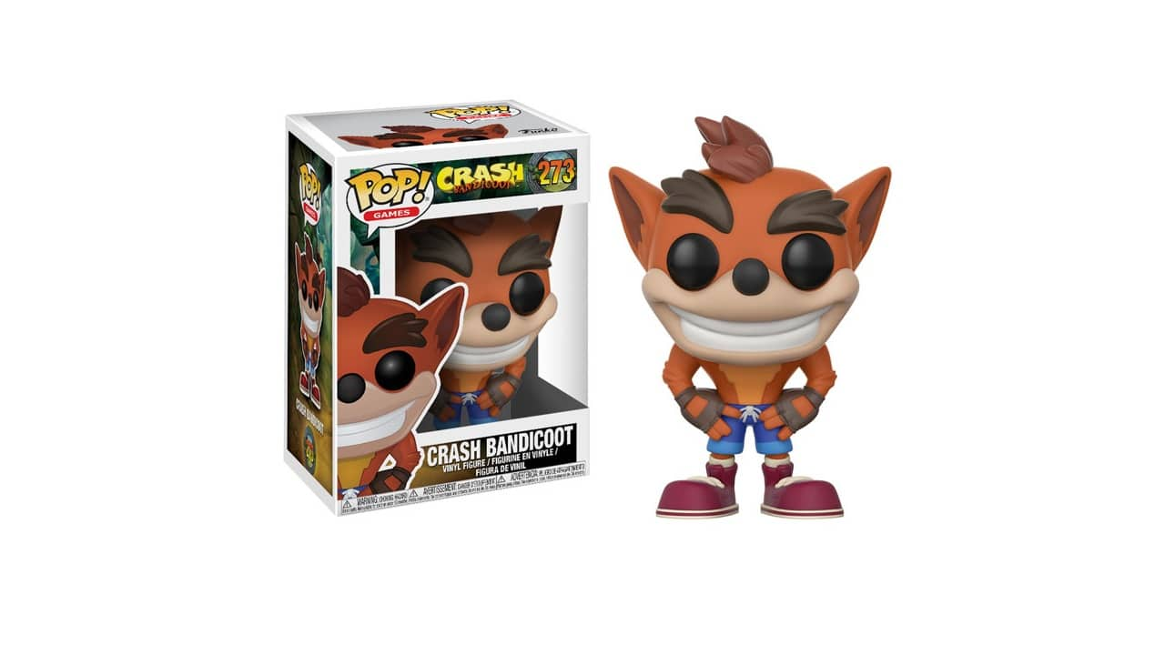 crash bandicoot funko k ndigt pop games figuren an. Black Bedroom Furniture Sets. Home Design Ideas
