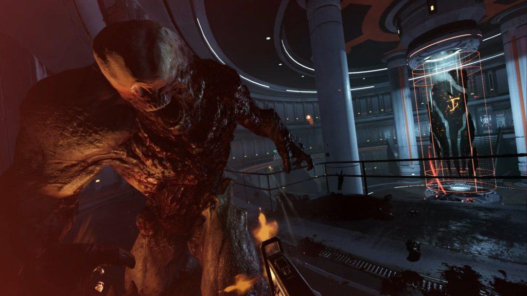 Doom VFR: Mit Unterstützung des VR-Aim-Controllers