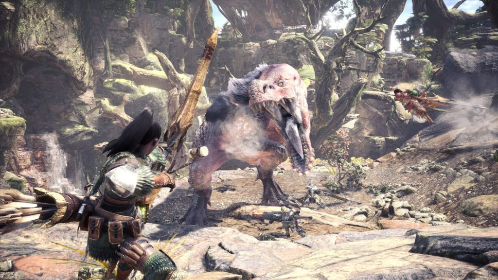 Monster Hunter World Day One Patch
