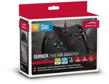Quinox Pro USB Gamepad