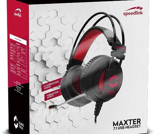Speedlink MAXTER 7.1 Surround Gaming Headset