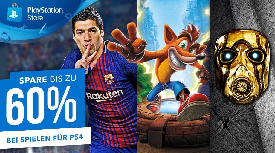 Schon gesehen? Bis zu 60 Prozent Rabatt im PlayStation Store!