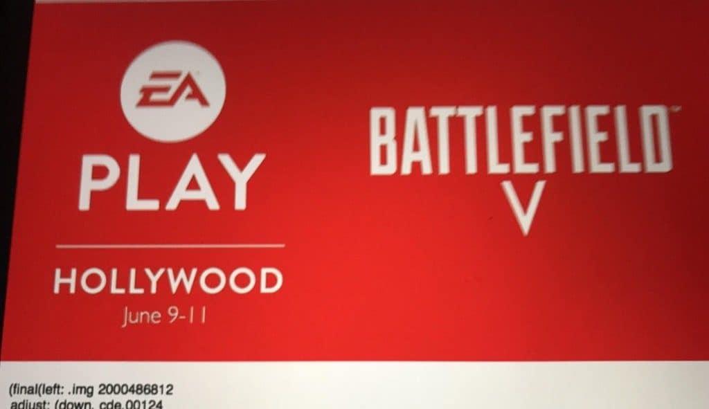 Battlefield V - Mögliches Banner für die EA Play geleakt