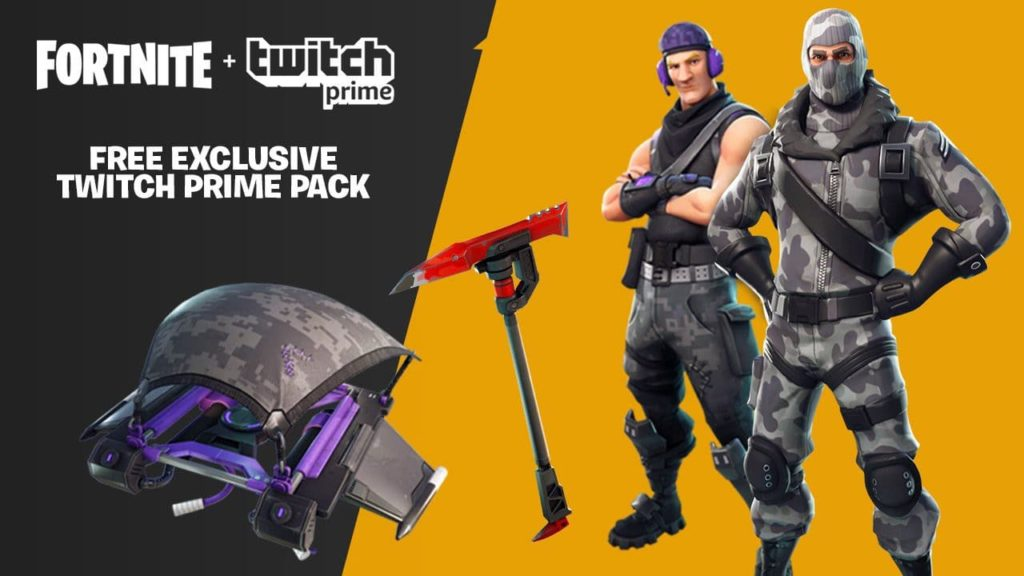 Fortnite Battle Royale - Twitch Prime Loot wird erweitert