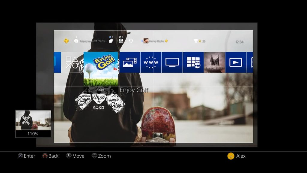 PS4 - In einfachen Schritten zum eigenen Wallpaper - PS4 Wallpaper
