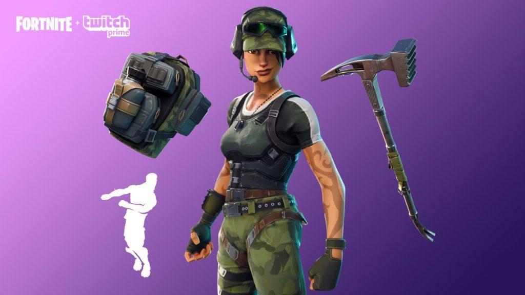 Fortnite Battle Royale - Neuer Twitch Prime Loot verfügbar