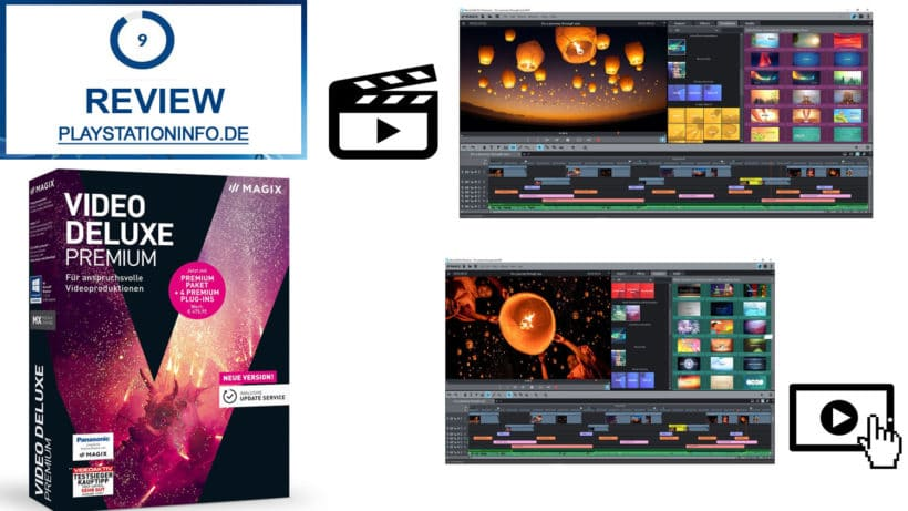 Magix Video Deluxe Premium 2018 Review Komfort Mit