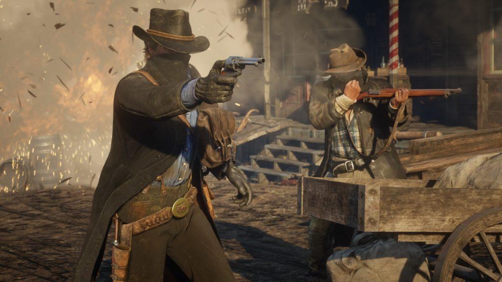 Red Dead Redemption 2 - Bietet sehr realistische Waffenmechanik