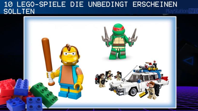 10 Lego Spiele Die Unbedingt Erscheinen Sollten Video Playstation