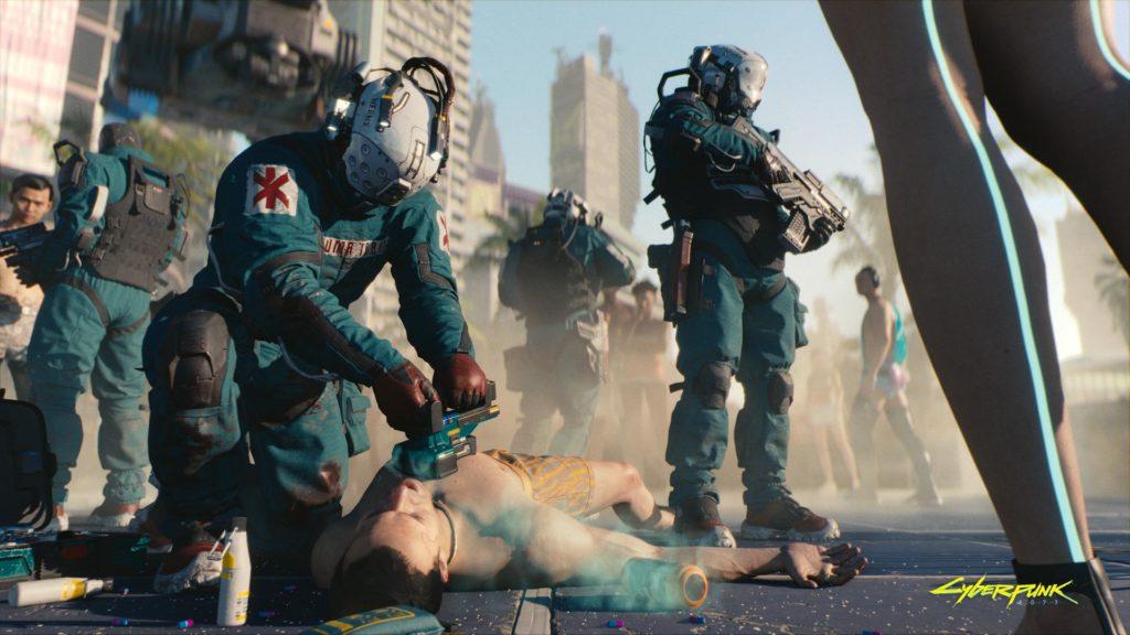 Cyberpunk 2077 - Besitzt Ingame-Werbung der besonderen Art