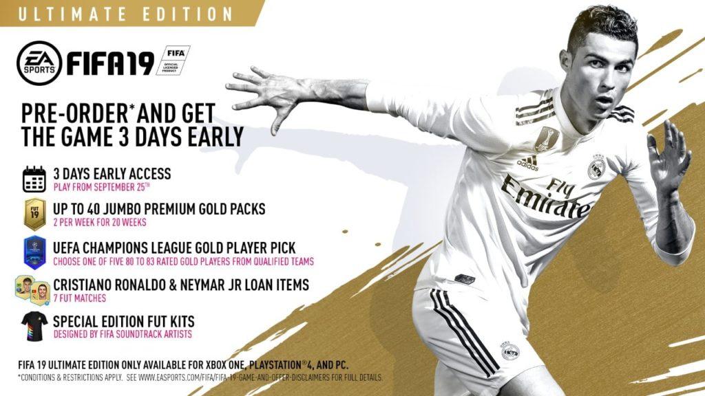 FIFA 19 - Die einzelnen Editionen im Überblick