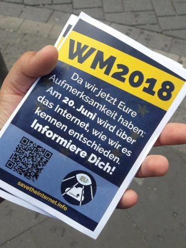 Neues EU-Urheberrecht - Nutzer kämpfen weiter für Netzfreiheit - Deutschland Schweden