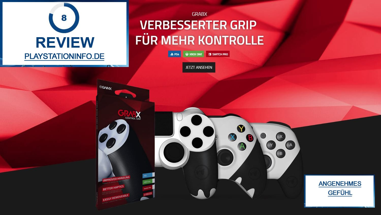 GrabX – Grip für schweißtreibende Matches (Review)