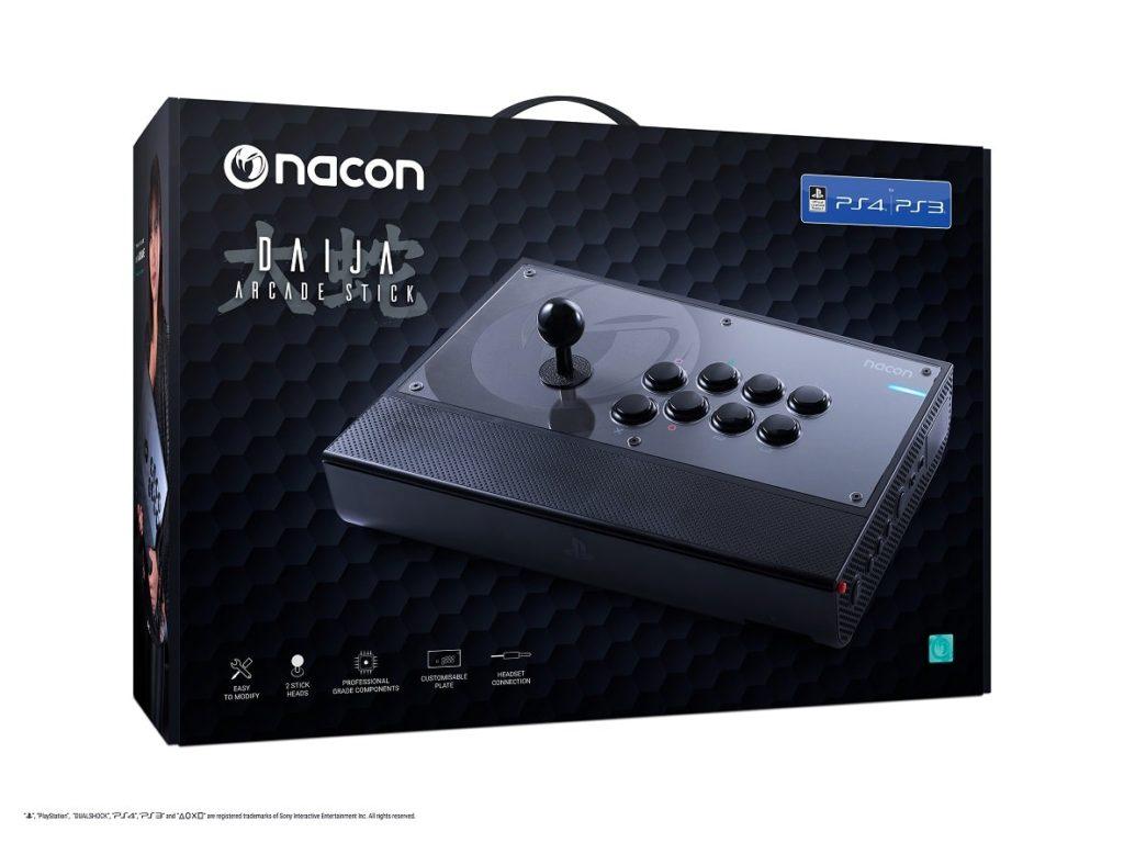 Nacon Daija Arcade Stick - Ab sofort für PS4 erhältlich