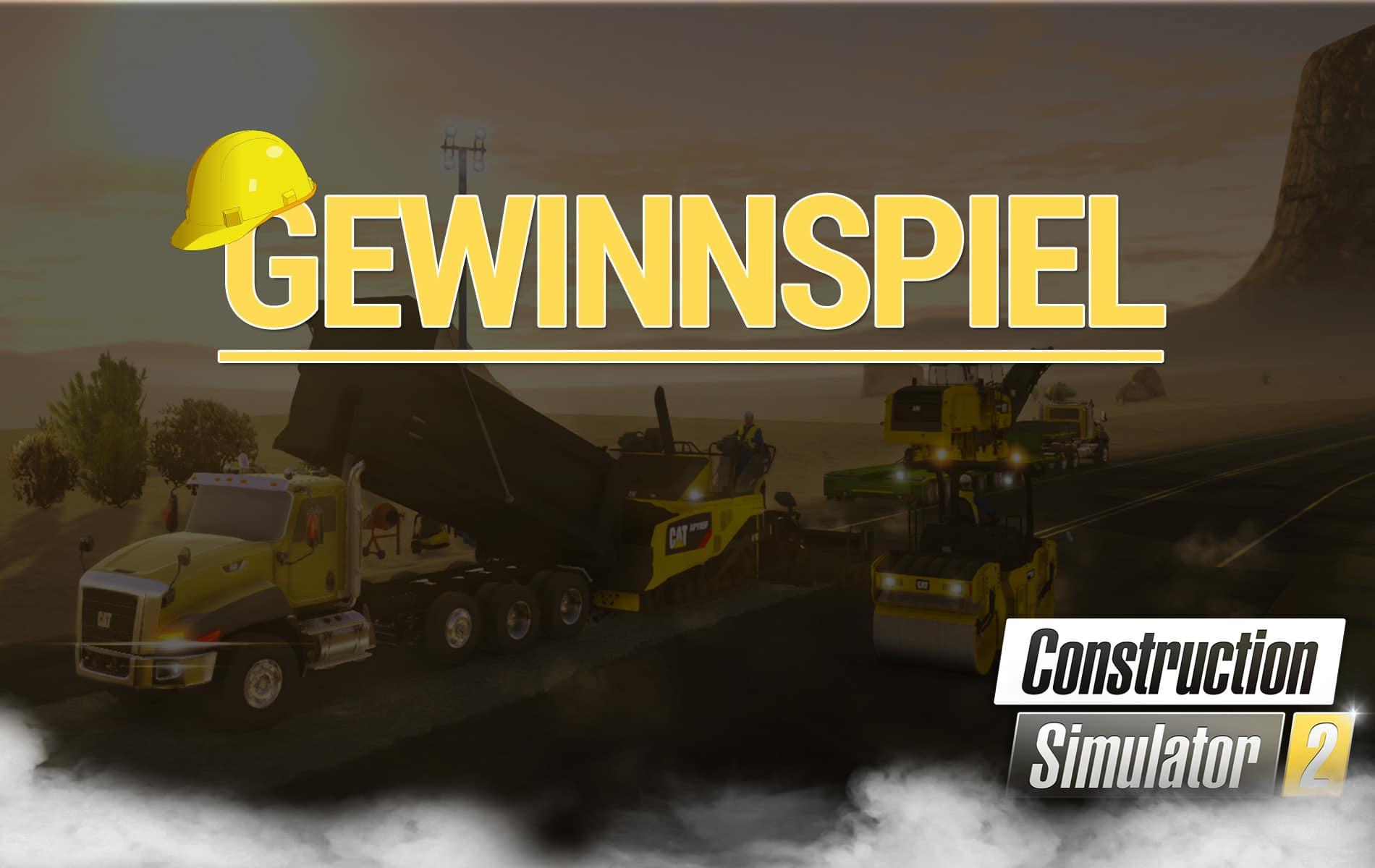 Gewinnspiel: Wir verlosen zwei Mal - Construction Simulator