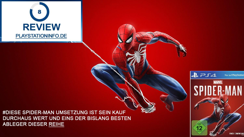 Marvel Spider-Man Review - Spidy wie ich ihn liebe