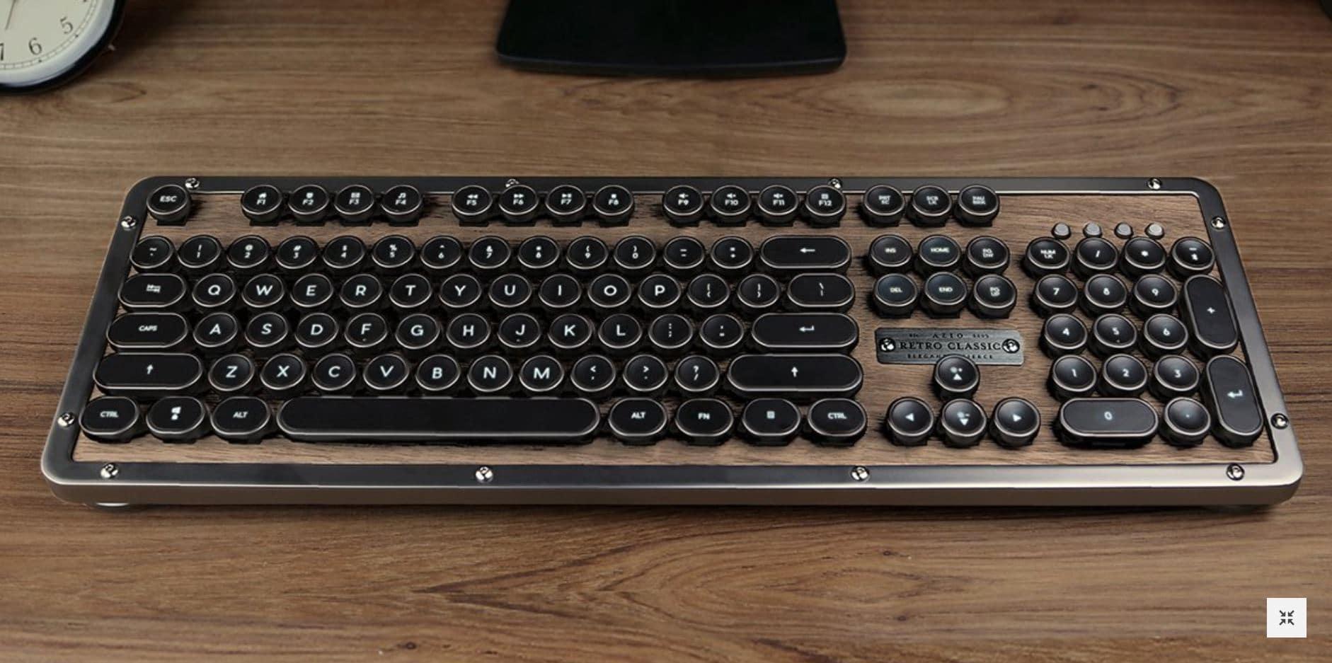 Azio Präsentiert Auf Ifa Edle Retro Classic Tastatur Playstation Info