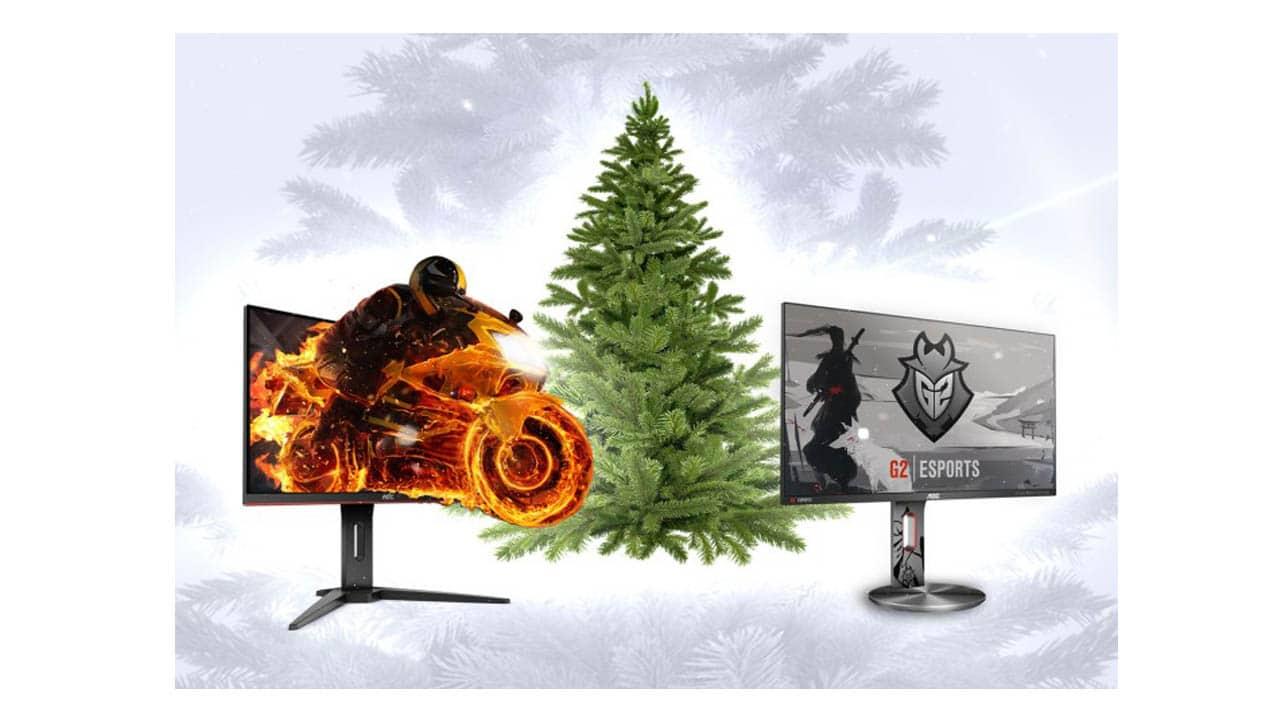 Weihnachtsbaum Spiele.Macht Platz Unter Dem Weihnachtsbaum Für Gaming Monitore Der G1